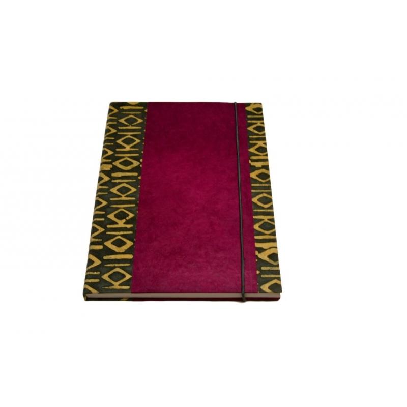 a4 notizbuch fuchsia mit ornamenten 19 90. Black Bedroom Furniture Sets. Home Design Ideas