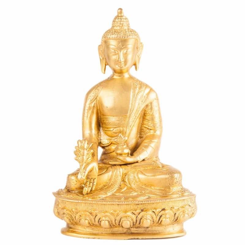 Buddha Sitzend Aus Messing Ca 15 Cm 79 00