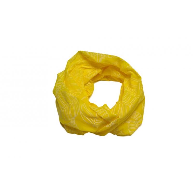loop schal einfach gelb bl tter 14 90. Black Bedroom Furniture Sets. Home Design Ideas