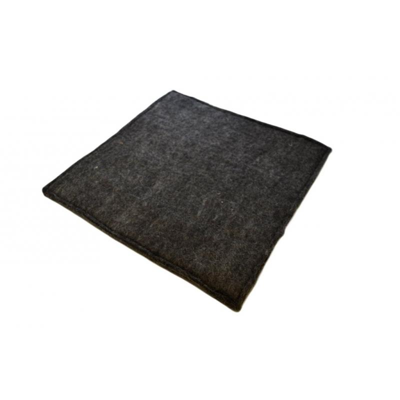 sitzkissen aus filz ca 40 40 cm 2 farbig. Black Bedroom Furniture Sets. Home Design Ideas