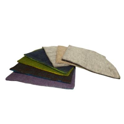sitzkissen aus filz ca 40 40 cm 2 farbig verschiedene farben 24 90. Black Bedroom Furniture Sets. Home Design Ideas